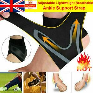 New Foot Brace Ankle Support Strap Medical Compression Elastic Bandage Wrap UK