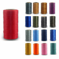 0.8mm 78m Waxed Thread Polyester Cord Sewing Stitching Leather Craft Bracelet