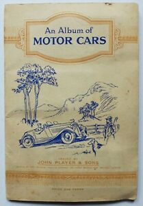Motor Cars Players cigarette cards complete set of 50 from 1936
