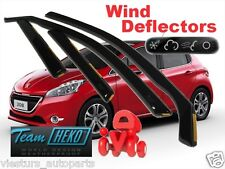 PEUGEOT 208 5D  2012 - ON  Wind deflectors  4.pc   HEKO  26147