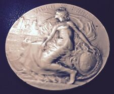 Rare / French Art Deco / bronze medal by Prudhomme, Ville de Paris / M54