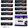 10Pcs Donald Trump President 2020 KEEP AMERICA GREAT Bumper Car Stickers Decal