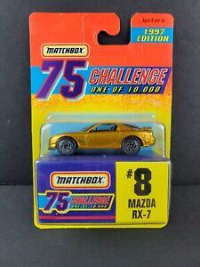 1997 Matchbox Gold Challenge Limited Edition Car NEW Mazda RX-7 JDM #8