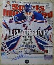 Henrik Lundqvist Signed 16x20 Photo w JSA COA #U44050 Rangers Sports Illustrated