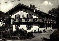 8242 BISCHOFSWIESEN Haus Blumenfreund alte s/w AK Ansichtskarte ca. 60er Jahre