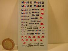 "DECALS 1/43 PETROLIER"" MOBIL "" - VIRAGES  T26"