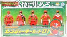 GOKAIGER RED RANGER KEY SET 01 BANDAI POWER RANGERS 4892762650281 NEW