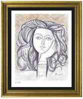 "Pablo Picasso Signed/Hand-Numbered ""Portrait Francoise"" Litho Print (unframed)"