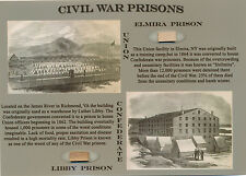 CIVIL WAR PRISON Wood Relics * Union /Confederate * Elmira/Libby Historic Pieces