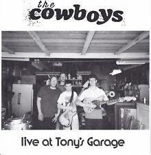 "The Cowboys-Live At Tony's Garage 7"" 2018 Indiana DIY Punk ROCK"