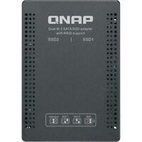 QNAP INC QDA-A2MAR 2.5 SATA TO DUAL M.2 2280 SATA DRIVE AD