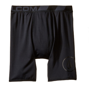 Volcom Boys Kids JJ's Chones Swimsuit Bottoms Black Size XL 4171