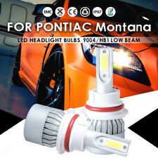 For Pontiac Montana 2005-1999 9004 HB1 LED Headlight Kit Bulbs High Low Beam