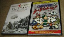 Vietnam War: Americas Conflict (DVD,4-Disc Set),NEW & SEALED+ CARTOONS 4 VICTORY