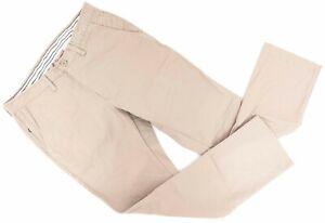 "Rapha Cotton Trousers Pants Men 30"" x 27"" *** Tan Casual Lifestyle Commute Bike"