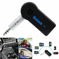 Auto Bluetooth 3,5mm SENZA FILI AUX RICEVITORE ADATTATORE CHIAVETTA MUSICA AUDIO