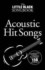 The Little Black Song Book Acoustic Hit Songs Songbook by Music Sales Ltd