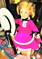 Meet Cotton Our Spirited Vintage Shirley Temple 1900's Sweet Greet Vessel Doll