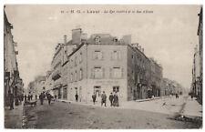 CPA 53 - LAVAL (Mayenne) - 25. La rue Joinville et la rue d'Ernée - N. G.