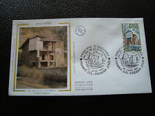 ANDORRE (francais) - enveloppe 1er jour 26/1/1980 (architecture) (cy63) andorra
