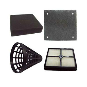 SET OF 4 FILTERS TO SUIT CLEANSTAR V2200 MACHINE CONE/EXHAUST/PRE MOTOR