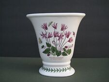 PORTMEIRION Botanic Garden Oval Versailles Vase, Cyclamen Repandum