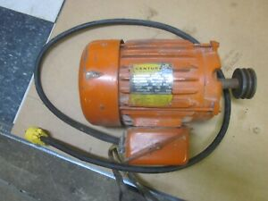 Vintage Century Electric Motor 1.5 HP - 1745 RPM - 115/230 Vac - 1Ph