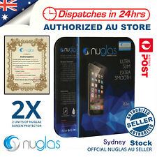 Nuglas 5.5in Premium Tempered Glass Screen Shield for iPhone 8 Plus - Clear