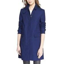 Burberry Brit  Stonebury Single Breasted Coat Jacket Size Us 4 1095 ink blue