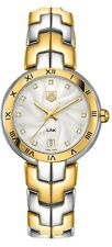 Brand New TAG Heuer Link Two-tone Diamond Dial Women's Watch - WAT1352.BB0962