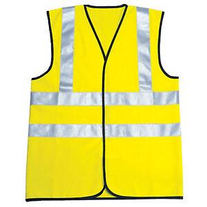 Hi Viz Kids Safety Vest  High Visibility Childrens Waistcoat Jackets School Trip