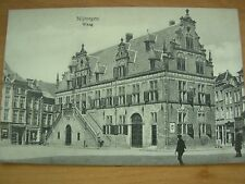 VINTAGE POSTCARD WAAG ( WEIGH STATION ) - NIJMEGEN - NETHERLANDS