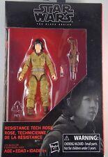 "STAR WARS the black series RESISTANCE TECH ROSE 3.75"" Walmart Exclusive"