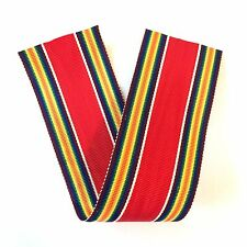 "WWII U.S. VICTORY MEDAL RIBBON DRAPE 6 INCH LENGTH VINTAGE ""NEW OLD STOCK"""