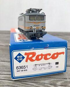 Locomotive Electrique Ho BB8100 Sncf Roco 63651