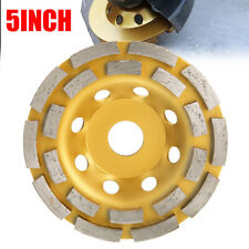 """5""""  Wheel for Diamond Segment Grinding Disc Grinder Cup Concrete Stone Cut Tool"""