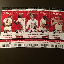 Cincinnati Reds 2015 MLB ticket stubs - One Ticket - Legends