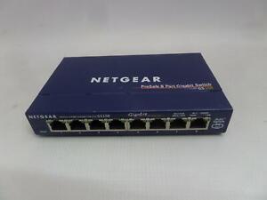 NETGEAR ProSafe 8-Port Gigabit Switch GS108}