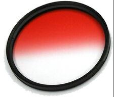 37/40.5/46/49/52/55/58/62/67/72/77mm/82mm Graduated Red Color Filter Lens