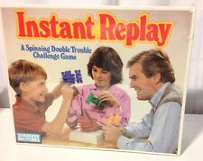 INSTANT REPLAY VINTAGE PARKER BROTHERS GAME 1987 ** UNOPENED SEALED BOX**