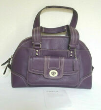NEW Coach Hamptons Vintage Miranda Boysenberry Tote Bag Rare!