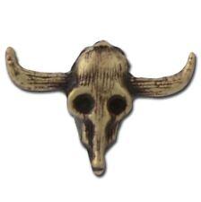 A07 Cow Skull Lapel Pin