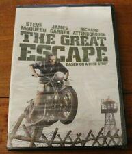 The Great Escape Steve McQueen James Garner Dvd Sealed