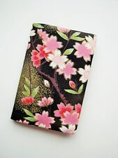 Cherry Blossom Passport Holder / Cover / ID holder Sakura Japanese style fabric