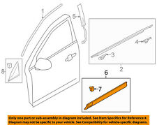 Lincoln FORD OEM 13-18 MKT Front Door-Side Molding Left AE9Z7420879AA
