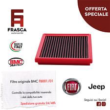 Filtro Aria Sportivo BMC Originale FB881/01 500X 1.4 JEEP COMPASS RENEGADE 1.6