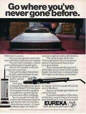 1985 ORIGINAL EUREKA VACUUM CLEANER MAGAZINE AD