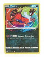 Pokemon Trading Card Game - Shining Fates Yveltal Amazing Rare 046/072 NM M