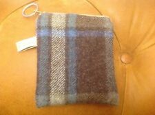 Tweed  Fabric Coin Purse Laura Ashley Lined And Zipped