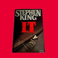 IT, Stephen King (1986, HC/DJ, 1st Edition 1st Print), 1st/1st Hardcover